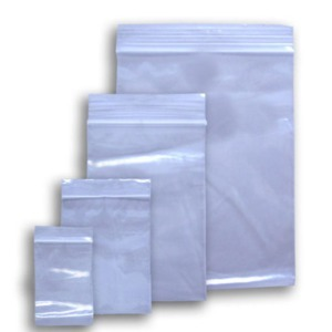 "Poly Zip Lock Bag 4"" x 6"" x 2mil PK/100"