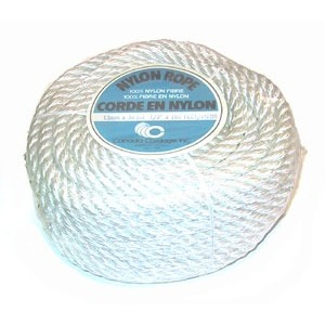 "Nylon Rope 1/2"" x 100' Self Serve Coil"