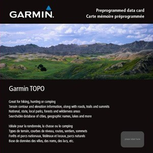 GARMIN 010-C1012-00 Micro SD Topo Canada-West