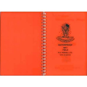 DUKSBAK Waterproof coil bound book
