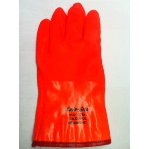 PVC Orange Insulated Gloves