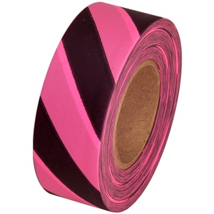 "STONEBLAZE Arctic Flagging Tape  1""  X125'  (Stripes and Polka Dots)"