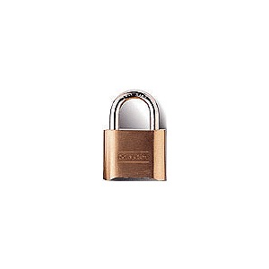 "CROWN Brass Padlock 1.5"" Keyed Alike"
