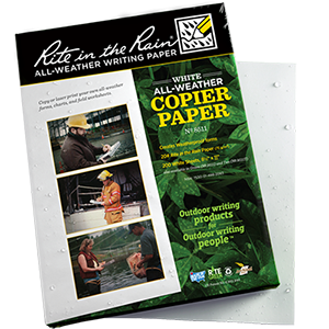 "RITE IN THE RAIN All-Weather Copier Paper (8.5"" x 11"") 200 Sheet Pack"