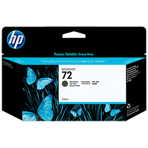 HP 72 130ml Matte Black Ink Cartridge C9403A