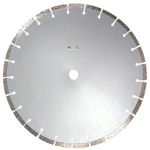 "CORE SAW BLADE 10350-100-01 14"" Segmented Premium for Hard Rock"