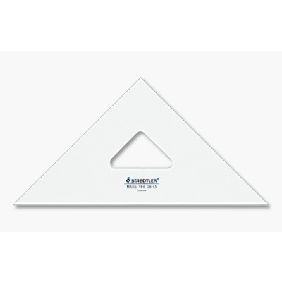 "STAEDTLER 964 12-60 Set Square Clear 12"" 30/60"