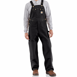 CARHARTT Men's R01 Duck Bib Overall Unlined