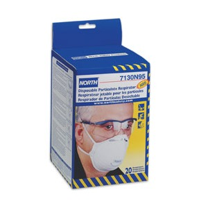 North 7130 Respirator N95 Mask - Box of 20