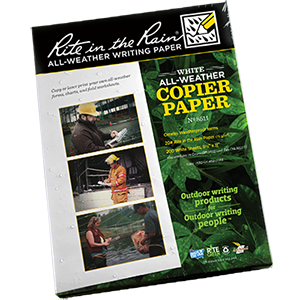 "RITE IN THE RAIN All-Weather Copier Paper (8.5"" x 11"") 500 Sheet Pack"