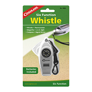 COGHLAN'S 0466 Six Function Whistle