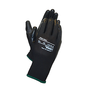 VIKING Nitri-dex Work Gloves Black