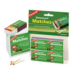 COGHLAN'S 940BP Waterproof Matches