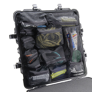 PELICAN 0379 Lid organizer for 0370 Cube Case