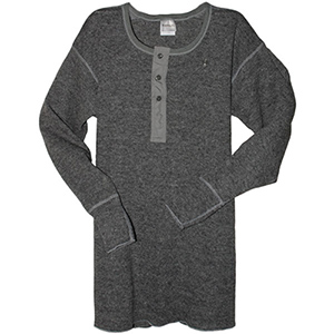 Stanfield's 1315 Heavy Weight Wool L/S Shirt Grey