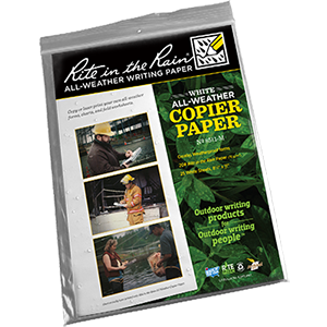 "RITE IN THE RAIN All-Weather Copier Paper (8.5"" x 11"") 25 Sheet Pack"