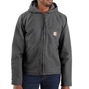 CARHARTT 104392 Washed Duck Sherpa Lined Jacket