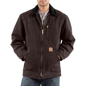 73152f7f080 Carhartt C61 Sandstone Ridge Coat   Sherpa Lined