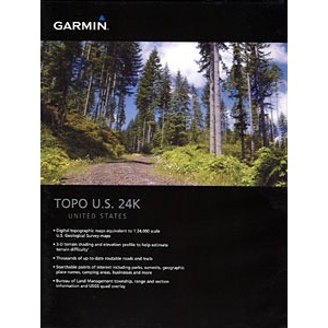 GARMIN 010-C0950-00 Topo US 24K Mountain Central