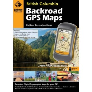 BACKROAD GPS Map DVD (All British Columbia)