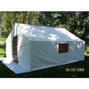 SB Insulated Canvas Wall Tent 14'x16'x5' W/Frame