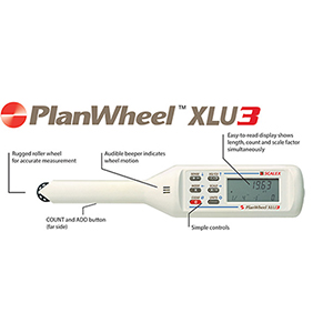 Scalex XLU3 Map Measurer (Planimeter)