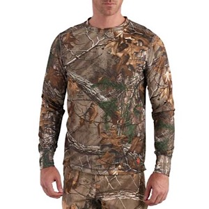 Carhartt 102222 Base Force Extremes® Cold Weather Camo Crewneck