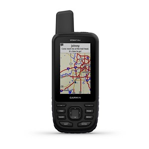 GARMIN 010-01918-10 GPSMAP 66st with TOPO U.S. & Canada Maps