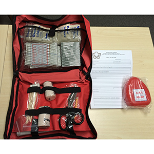 BC LEVEL 1 First Aid Soft Pack