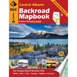 BACKROAD Mapbook: Central Alberta