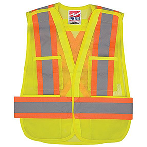 SAFETY Mesh Vest  WCB Fit All