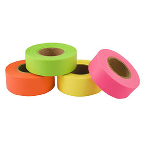 "STONEBLAZE Arctic Flagging Tape 1"" x125'"
