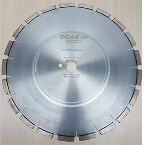 "Core Cutting Blade HC4-4  14"" Segmented Premium for Hard Rock"